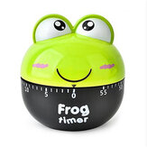 Frog Mechanical Timer Cartoon Creative Cute Kitchen Cooking Student Learning Test Timer for for Shop Home Kitchen Gadget