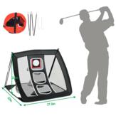 70x81.3x56см / 27,5''x32''x22 '' Учебное пособие по спортивной сети для гольфа Ударная сетка для вождения газона Чистая тренировочная сеть