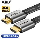 FSU HDMI Kablosu 4K * 2K Erkek - Erkek 3D 1080P HD Adaptör Kablosu Monitör Bilgisayar TV PS3/4 Projektör