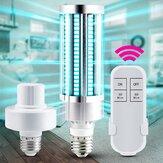 ARILUX 60W 220V UV Sterilizer Lamp E27 LED UVC Bulb Remote Control Disinfection Light Sterilizer Ozone Kill Bacteria Mites