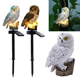 Original              Waterproof Solar Power Owl LED Lawn Light Garden Yard Landscape Ornament Lamp Home Outdoor Decoration