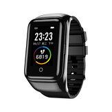 LEMFO M7 BT5.0 TWS Wireless Auricolare Polsino Chiamata bluetooth 1.14 Pollici Monitor per la pressione sanguigna Idoneità Tracker Smart Watch