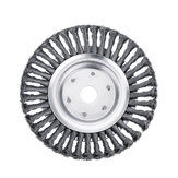 150/200mm Steel Wire Trimmer Head Grass Brush Cutter Wheel Grout Weeding Eater Plate Dust Removal Tool for Lawnmower