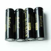 2Pcs Sofirn 900mAh 14500 Li-ion Batteries For LED Flashlight