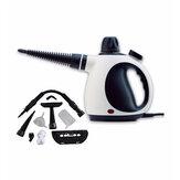 1000W Sterilisation Hochtemperatur Hochdruck Dampfreiniger mit 6 Köpfen Mobile Reinigungsmaschine Automatischer Pump Desinfektor Staubsauger
