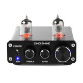 DING SHINE HiFi Digital 6J1 Vacuümbuis Treble Bass Mini Stereo Audio DAC Pre-versterker
