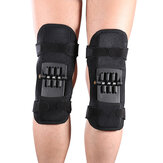 KALOAD 1 Pcs Knee Support Spring Force Non-Slip Power Joint Protector Knee Pads Rebound Protective Gear Running Basketball Volleyball