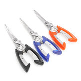 Stainless Steel Fishing Pliers Plierweiter Scissors Line Cutter Hook Tackle Tool