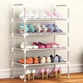 Shoe Rack 4/7/10 Tiers Standing Storage Organizer Entryway Shelf-White