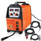 220V MIG-200 3 in 1 Mig Welder TIG MMA MIG Gas Shield Welding Machine Digital Double Pulse Gas-shielded Welding Machine