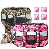45 дюймов 600D ткань Оксфорд питомник забор складной манеж для щенков Кот палатка домик для домашних животных клетка для домашнего путешеств