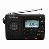 Retekess F9204D TIVDIO Rádio FM V-115 FM / AM / SW Rádio Bass Sound MP3 Player Gravador de Voz REC com Sleep Timer