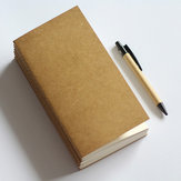 Standard Kraft Papier Portable Blank Point Grille Bloc-Notes Journal Journal Planner Organizer Filler Papier