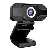 Webcam Auto Focusing Web USB 2.0 Camera Cam w/ Microphone For Macbook PC Laptop Desktop