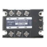 JGX-3 D4840 Relé de estado sólido trifásico SSR DC-AC 40A Entrada 3-32VDC 24-480VAC