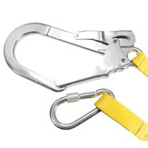 Alloy Steel Carabiner Buckle Climbing Safety Harness Lanyard Belt
