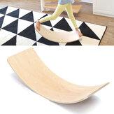 36 Pollici Schede per bilanciere curve in legno per bambini Giocattoli per bambini Idoneità Bridge