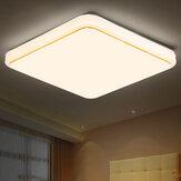 AC85V-265V 12W 24W vierkante LED-plafondlamp Kroonluchters Inbouwlamp voor thuis woonkamer
