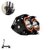 BOYUEDA U7 Scooter Headlight Waterproof Aluminum Alloy 3 Modes Electric Scooter LED Front Lamp with Horn
