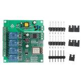 Источник питания переменного / постоянного тока ESP8266 WIFI Четырехходовой релейный модуль ESP-12F Совет по развитию вторичной разработки