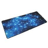 Противоскользящий неопреновый большой компьютер Blue Stars для игр Мышь Клавиатура Настольный коврик