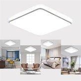 24W 1000LM LED Chapeamento de Ultra-som Quadrado com Luz de Teto para Cozinha Quarto AC110V-240V