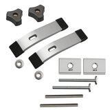 2 ensemble M8 ensemble de plaques de pression pour la fixation de la planche bricolage outils de pince à bois