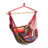 Garden Hammock Chair Hanging Swing Seat With 2 Cushions Outdoor Camping