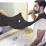 Мужчины Pongee Beard Care Фартук для бритья, нагрудник Триммер Чистый уход за лицом Волосы Мыс Ванная комната Полки Волосыcut Водонепроницаемы Цвет