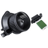 Manual Airconditioning Blower Motor With Heater Resistor For VAUXHALL For Fiat For OPEL 13335074 13248240