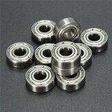 10pcs 696ZZ 6x15x5mm Ball Bearings Double Shielded Miniature Ball Bearing