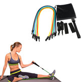 KALOAD 11 Pcs Pull Rope Kits Fitness Resistance Bands Exercises Sport Body Training Yoga Equipment