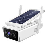 2MP Wifi 1080P Solar Power IP Camera CCTV Security Night Vision Outdoor