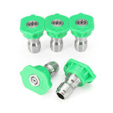 5pcs 25 Degree Green Spray Tips Set High Pressure Washer Nozzle Spray Tips