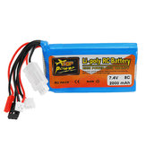 ZOP Power 7.4V 2000mah 8C Lipo Battery For Frsky ACCST Taranis Q X7 Transmitter