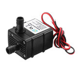 Machifit QR30E Ultrastil Mini Brushless Pump DC 12V 4.2W 240L / H Debiet Dompelpompen met water