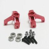 Wltoys 1/14 144001 124018 124019 Parti di automobili RC in metallo per aggiornamento sedile anteriore