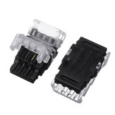 10PCS 3 Pin 10MM Non-waterproof Board to Wire Connector Terminal for CCT LED Strip Light