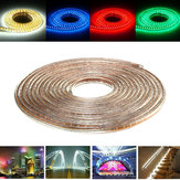 10M SMD3014 Waterproof LED Rope Lamp Party Home Christmas Indoor/Outdoor Strip Light 220V
