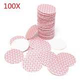 100Pcs 48 to 70mm Pressure Sensitive Liner Foam Safety Tamper Seals for Jar Lid Bottle