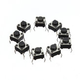 Geekcreit® 500pcs Mini Micro Momentary Tactile Tact Switch Push Button DIP P4 Normally Open