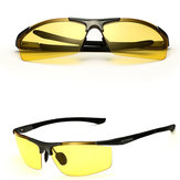 Aleación de magnesio de aluminio Sun Glassess Uv Protection Polarized Driving Outdooors Eyeglasseess