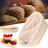 Brotform Banneton malacca Storage Cestini Bread Dough Proofing Loaf Proving Liner