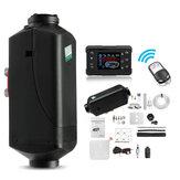 12V 5000w 2 Tube 2 Outlet LCD Switch Digital Remote Diesel Air Parking Heater Pemanas Diesel