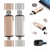 5 in 1 USB 3.1 Type-C To Micro USB 2.0 TF/SD Card Reader USB 3.0 Adapter for Tablet