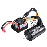 Racerstar 4068 Borstelloze Waterdichte Sensorloze Motor 2050KV 120A ESC Voor 1/8 Auto RC Auto Onderdelen