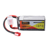 ZOP Power 11.1V 1500MAH 3S 30C Lipo Battery T Plug for RC Drone