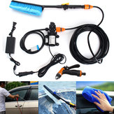75W High Pressure Self Priming Electric Car Kit de lavagem portátil Wash Washer Water Pump
