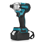 18V 1/4 inch Brushless Cordless Electric Screwdriver Driver Rechargeable W/ Battery
