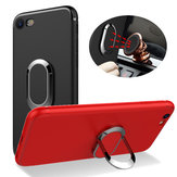 Bakeey™ 360° Adjustable Metal Ring Kickstand Magnetic Frosted Soft TPU Case for iPhone 6Plus 6sPlus